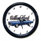 New 1971 Chevy Monte Carlo Wall Clock