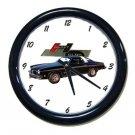 New 1974 Black Hurst Olds Wall Clock