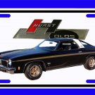 NEW 11974 Black Hurst Olds License Plate FREE SHIPPING!