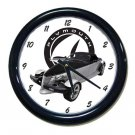 New 2001 Plymouth Black Tie Prowler Wall Clock