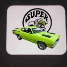 New 1971 Plymouth Valiant Super Bee Mousepad!!