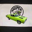 New 1971 Plymouth Valiant Super Bee Hand Towel