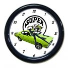 New 1971 Plymouth Valiant Super Bee Wall Clock