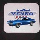 New 1969 Blue Chevy Yenko Camaro w/ Yenko logo Mousepad!
