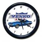 New 1969 Blue Chevy Yenko Camaro w/ Yenko logo Wall Clock