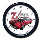 New 1969 Chevy Camaro Z28 Wall Clock