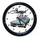New 1965 Pontiac Grand Prix w/LOGO Wall Clock