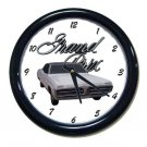 New 1967 Pontiac Grand Prix w/LOGO Wall Clock