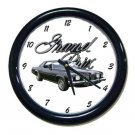 New 1973 Pontiac Grand Prix w/LOGO Wall Clock
