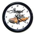 New 1977 Pontiac Grand Prix w/LOGO Wall Clock