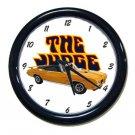 New  Orbit Orange 1970 Pontiac GTO Judge Convertible w/LOGO Wall Clock