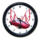 New 1989 Red Pontiac Trans AM  w/LOGO Wall Clock
