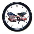 New GTO Collage  w/LOGO Wall Clock