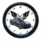 New Blue 2002 Pontiac Firebird Trans AM w/ Eagle LOGO Wall Clock