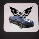 New Blue 2002 Pontiac Firebird Trans AM w/ Eagle LOGO Mousepad!