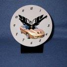 New Gold 2002 Pontiac Firebird Trans AM w/ Eagle LOGO desk clock!