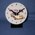 New Gold 2002 Pontiac Firebird Trans AM w/ WS6 LOGO desk clock!