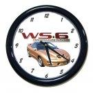 New Gold  2002 Pontiac Firebird Trans AM w/ WS6 LOGO Wall Clock