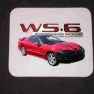 New Red  2002 Pontiac Firebird Trans AM w/ WS6 LOGO Mousepad!