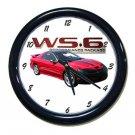 New Red 2002 Pontiac Firebird Trans AM w/ WS6 LOGO Wall Clock