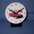 New Red 2002 Pontiac Firebird Trans AM w/ WS6 LOGO desk clock!