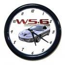 New Silver 2002 Pontiac Firebird Trans AM w/ WS6 LOGO Wall Clock