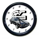 New 1984 Ford Mustang GT Wall Clock