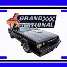 NEW 1985 Buick Grand National License Plate FREE SHIPPING!