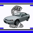 NEW 2001 Ford Mustang Cobra License Plate FREE SHIPPING!