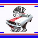 NEW 1977 Ford Mustang Cobra License Plate FREE SHIPPING!