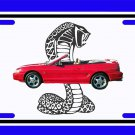 NEW 1994 Ford Mustang Cobra License Plate FREE SHIPPING!