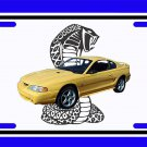 NEW 1998 Ford Mustang Cobra License Plate FREE SHIPPING!