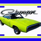 NEW Lime 1970 Dodge Charger License Plate FREE SHIPPING!