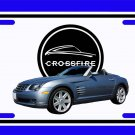 NEW  2005 Light Blue Chrysler Crossfire License Plate FREE SHIPPING!