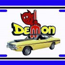NEW Yellow 1971 Dodge Demon License Plate FREE SHIPPING!
