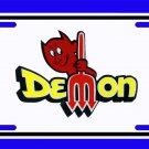 NEW Dodge Demon LOGO License Plate FREE SHIPPING!