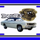 NEW 1970 Plymouth Duster License Plate FREE SHIPPING!