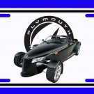 NEW 1999 Black Plymouth Prowler License Plate FREE SHIPPING!