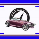 NEW 1999 Purple Plymouth Prowler License Plate FREE SHIPPING!