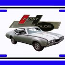 NEW 1968 Hurst Olds License Plate FREE SHIPPING!