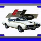 NEW 1969 Hurst Olds License Plate FREE SHIPPING!