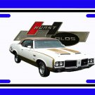 NEW 1972 Hurst Olds License Plate FREE SHIPPING!