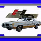 NEW 1972 Hurst Olds Pace car License Plate FREE SHIPPING!