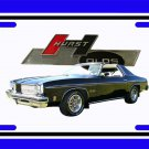 NEW 1975 Black Hurst Olds License Plate FREE SHIPPING!
