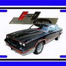 NEW 1983 Hurst Olds License Plate FREE SHIPPING!