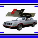NEW 1984 Hurst Olds License Plate FREE SHIPPING!