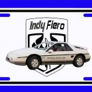 NEW 1984 Pontiac Fiero Indy Pace Car License Plate FREE SHIPPING!