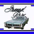 NEW 1965 Pontiac Grand Prix License Plate FREE SHIPPING!