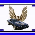 NEW 1979 Black Pontiac Trans AM SE License Plate FREE SHIPPING!