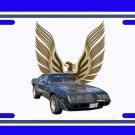 NEW 1979 Dark Blue Pontiac Trans AM License Plate FREE SHIPPING!